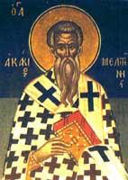 IMG ST. ACACIUS, Bishop of Melitene