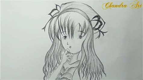 cool pencil drawing   draw anime step  step easy