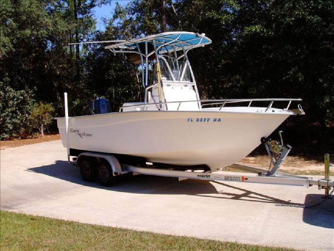 2006 20 Cape Horn Boats 19ft Cc Yamaha F150 With Only 86