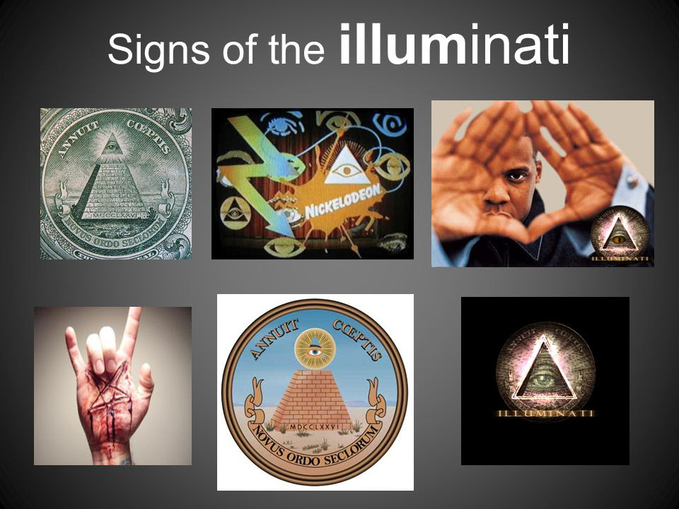 Presence of illuminati through ideologies