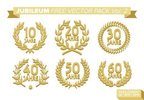 Jubileum Free Vector Pack Vol. 2   Download Free Vector