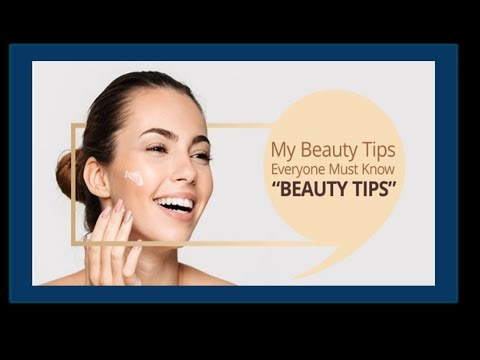 Homemade Beauty tips!