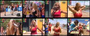 Ana Portugal sensual a cantar