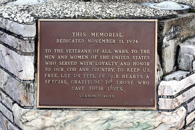 Vernon Ross Veterans Memorial