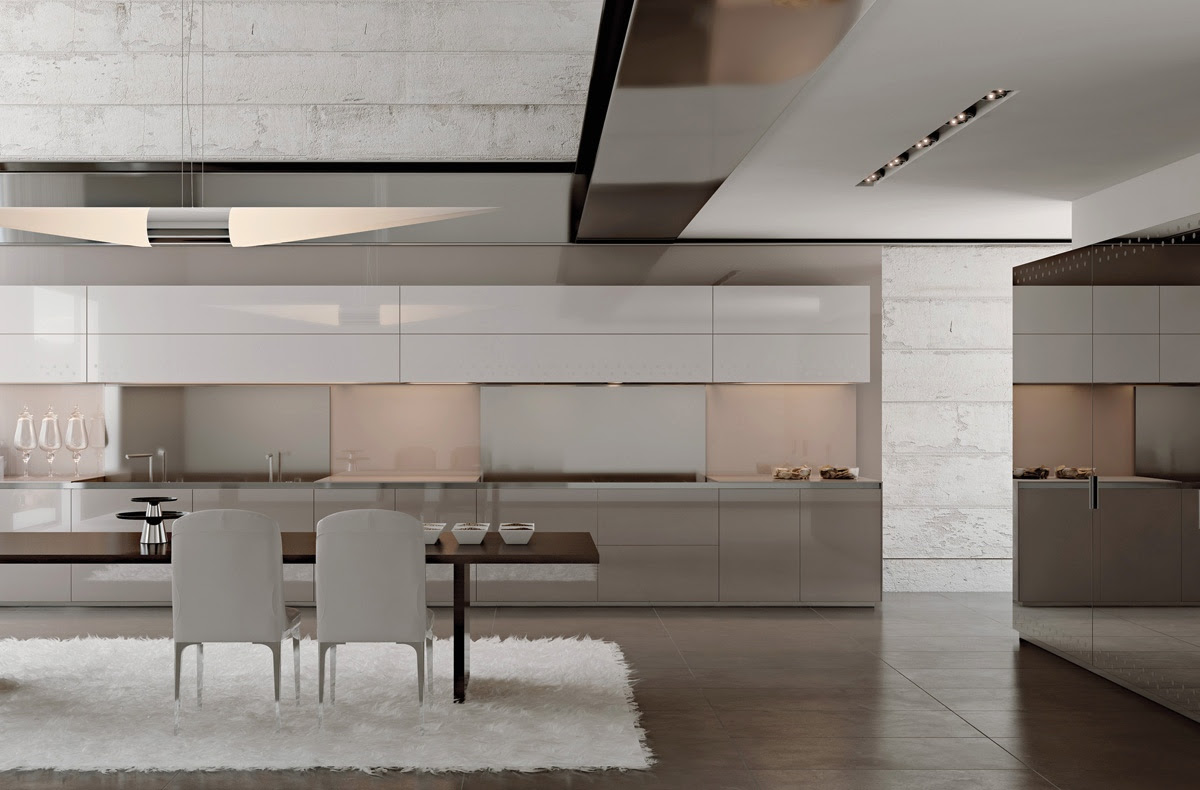 Modernist Minimalist Kitchen Design