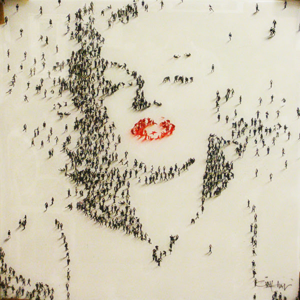perierga.gr - Διάσημα... ανθρώπινα πορτρέτα στο χιόνι!