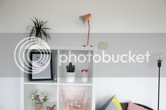 copper interior living room ikea kallax expedit