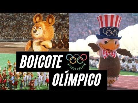 A história Boicote nos Jogos Olímpicos