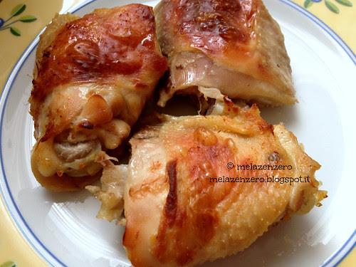 Pollo al latticello, cotto in cartafata