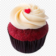 Red Velvet Cupcake Png & Free Red Velvet Cupcake.png