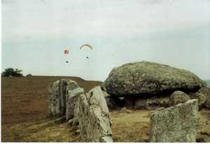 Glidflygare över Haväng