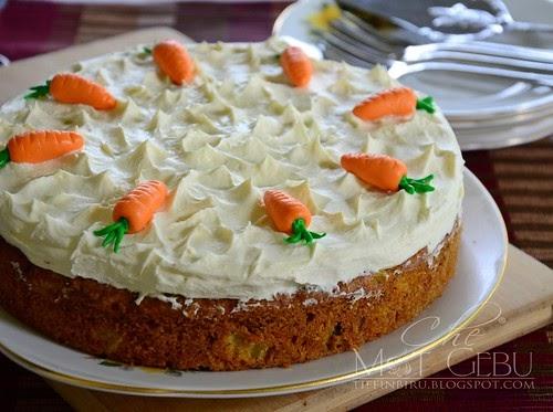 Heavenly Carrot Cake Mat Gebu