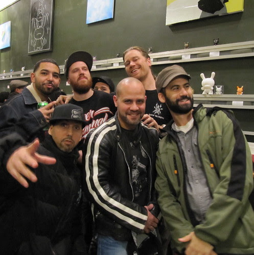 benny n NYC crew at almighty dunny
