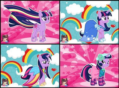 My Little Pony Twilight Sparkle Rainbow Power Style Dress