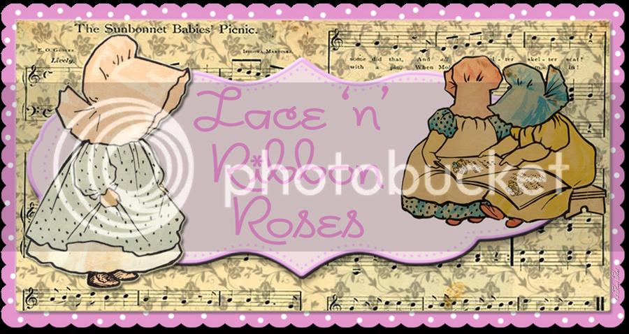 Lace 'n' Ribbon Roses