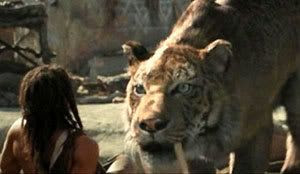 A screenshot from the film 10,000 BC.