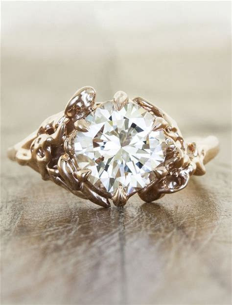 25  best ideas about Rustic engagement rings on Pinterest