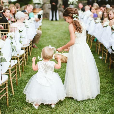 Read This Before Asking Your Flower Girl to Toss Petals