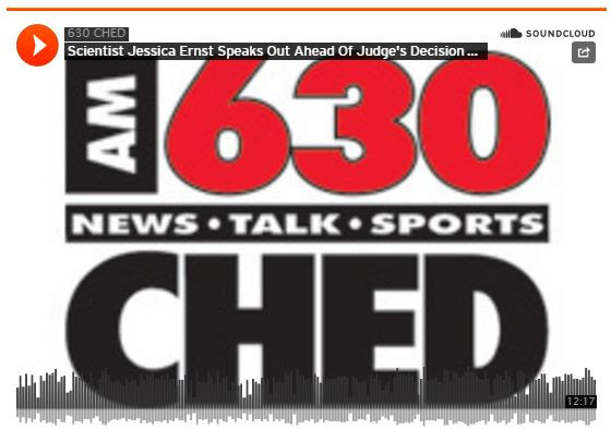201409 15 CHED interviews Jessica Ernst ahead of Court of Appeal of Alberta ruling ERCB now AER