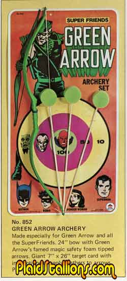 green arrow target set