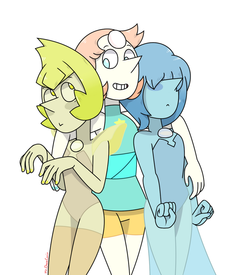 I really missed drawing these three. I completely forgot how fun it was to draw them.
