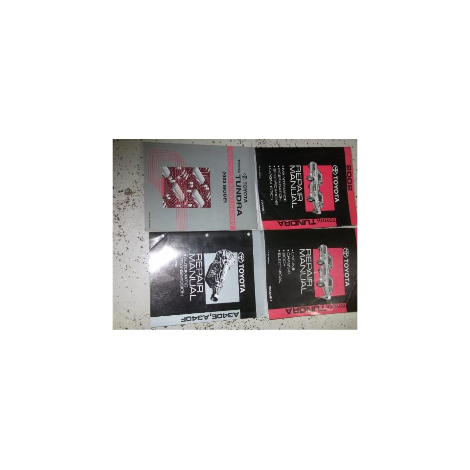 Diagram 2001 Toyota Tundra Service Repair Shop Set Oem 2 Volume Set And The Wiring Diagrams Full Version Hd Quality Wiring Diagrams Sinusdiagram Asandria It