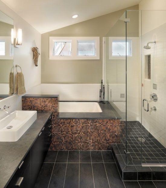 small master bath (no window there). | 74th | Pinterest