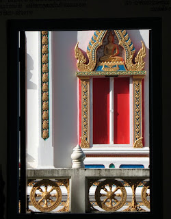 Window at Wat Sawang Arom
