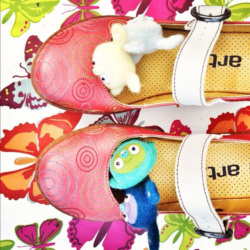 ART shoes and bobbaloos
