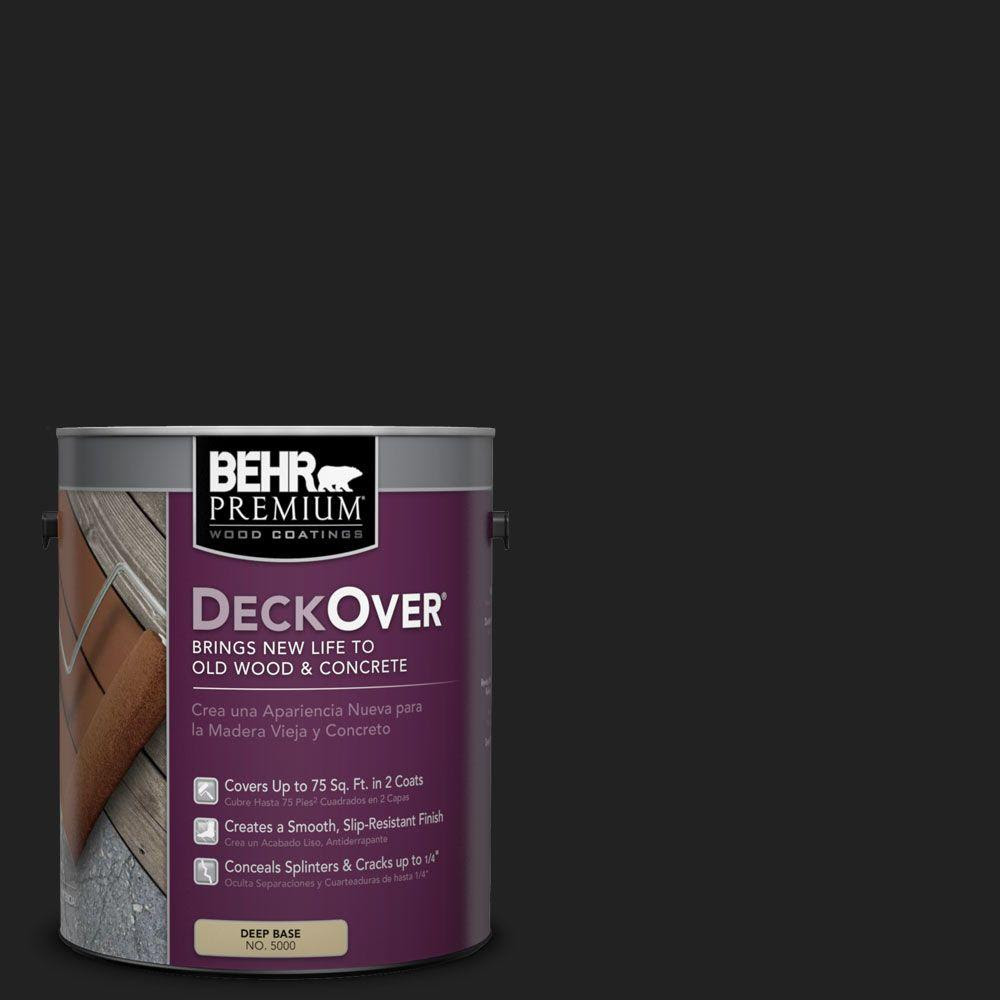 BEHR Premium DeckOver 1-gal. #SC-102 Slate (Grey) Wood and Concrete Coating