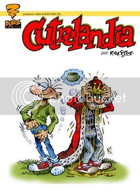 Uno de los cómics más esperados de Burz. Sobre todo por los de Burz.