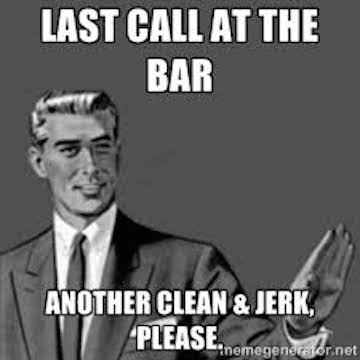 Image result for crossfit meme clean and jerks