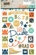 So Rad Photo Stickers - Simple Stories