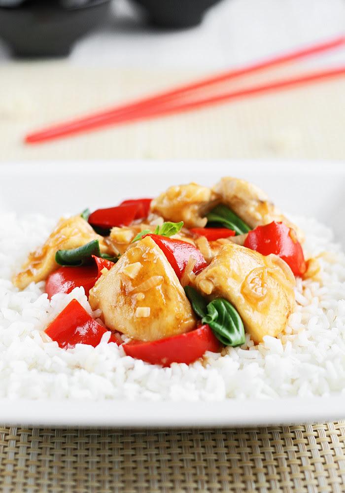 pollo estilo oriental