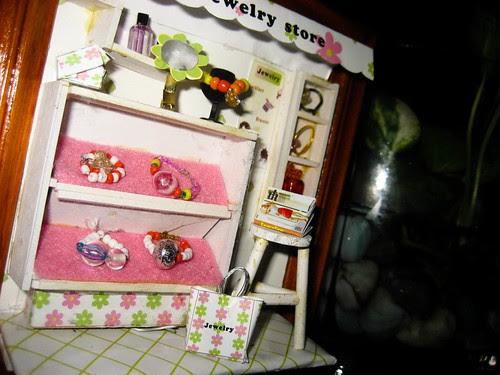 Miniature Jewelry Store