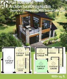 plan pm dramatic contemporary   floor deck