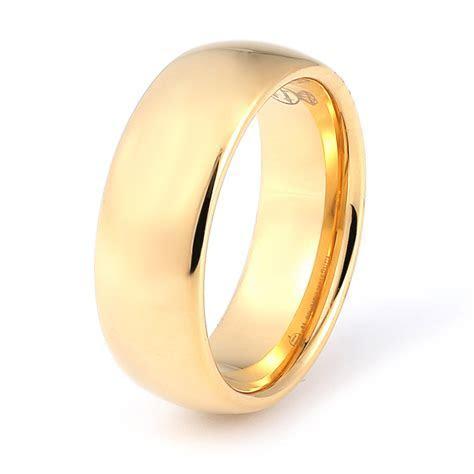 8mm tungsten carbide ring, men's wedding band, best gift