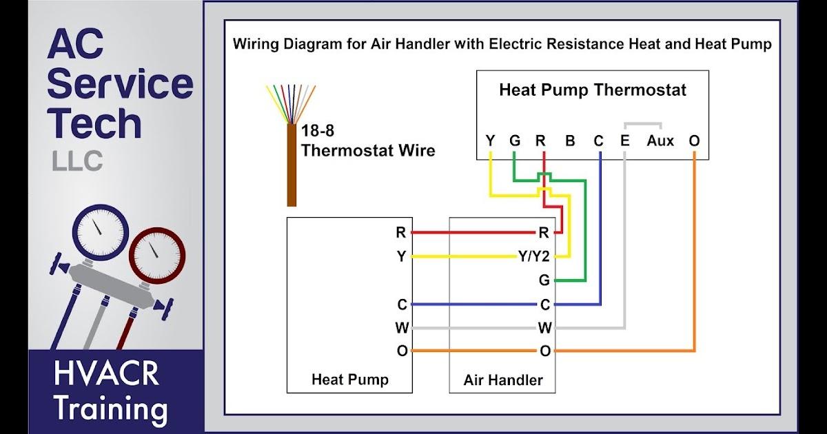 Ga Heat Ac Thermostat Wire Diagram