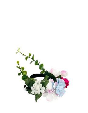 Image 2 ofASOS Flower & Ivy Hair Bun Holder