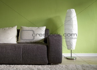 Image 1969122: Green living room from Crestock Stock Photos