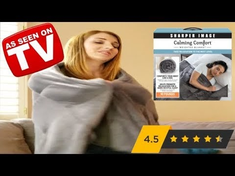 50+ Great Calming Comfort Blanket Sharper Image