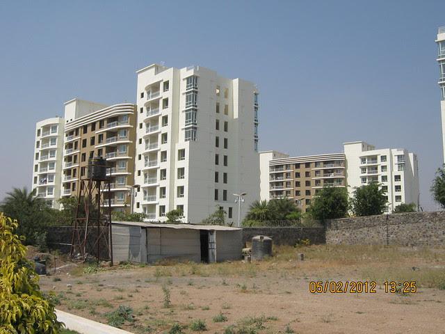 Site of Alfa Life Scapes, 2 BHK & 3 BHK Flats, & Konark Exotica - on Wagholi Kesnand Road, Wagholi, Pune 412 207