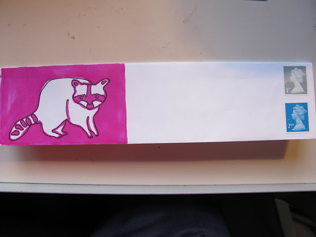 313 - Pink Racoon