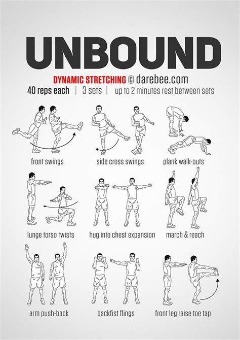 Unbound Workout: Dynamic Stretching Yoga Fitness - http