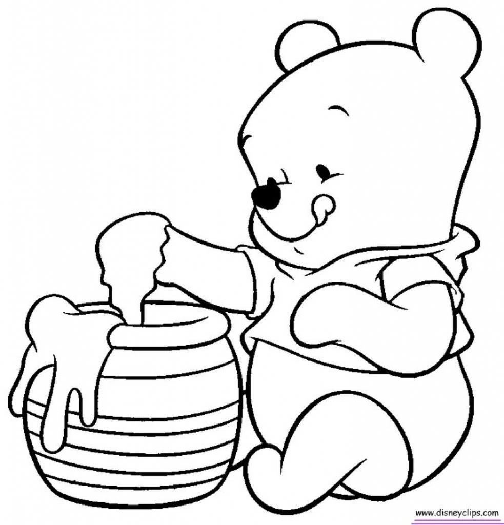 Whinny The Pooh Coloring Pages At Getdrawingscom Free For