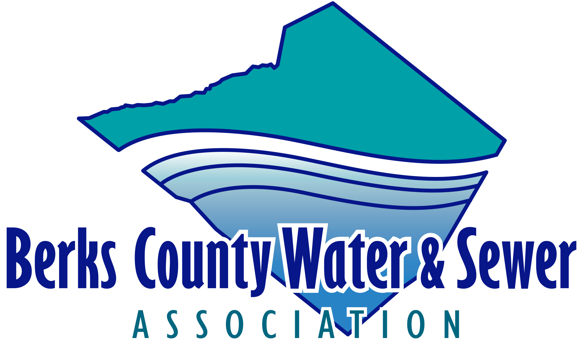 Berks County Pa Map, Berks County Water Sewer Association Logo, Berks County Pa Map
