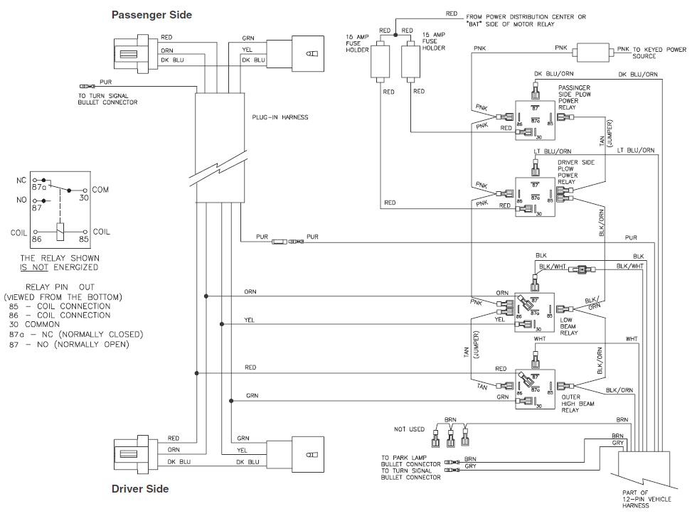 99 F350 Fisher Plow Wiring Diagram Box Wiring Diagram
