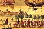 Lutherans leaving   Salzburg, 1731