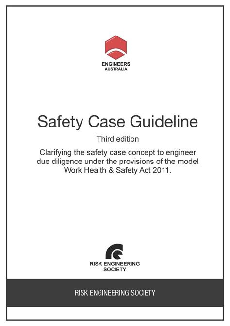Safety Case Guideline 3rd edition - PDF - EA Books