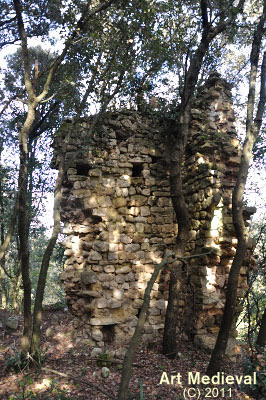 Restes del castell